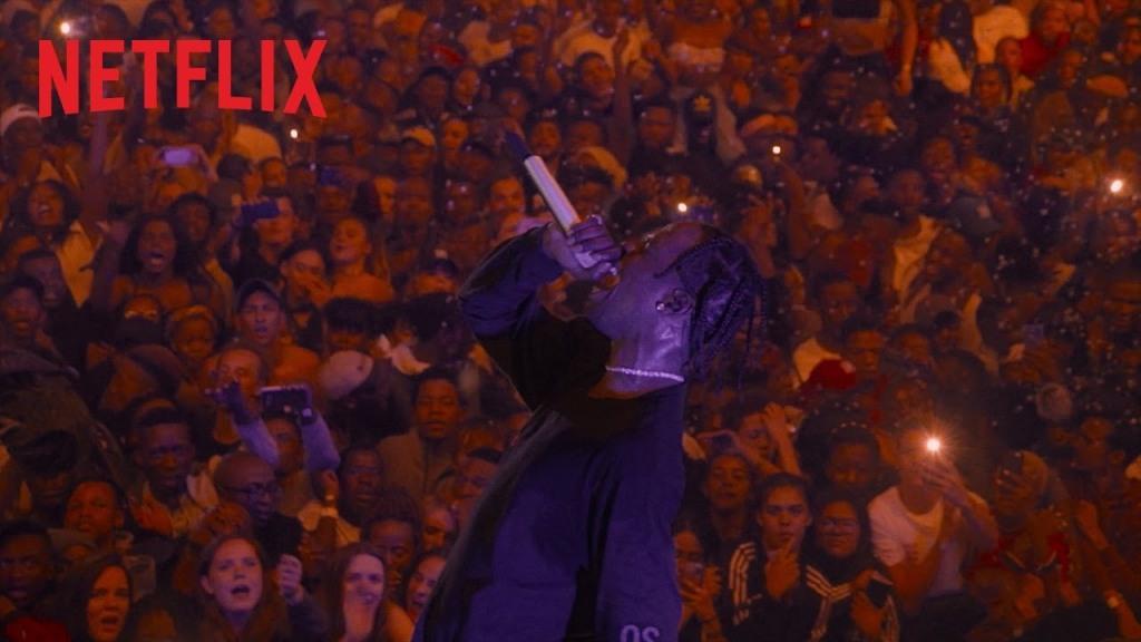 Travis Scott und die Fans, Netflix